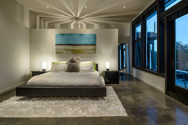 Beautiful Bedroom with Art Gallery