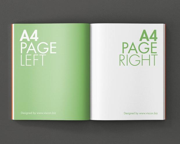 a4 magazine mockup free