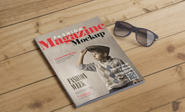 Fashion Magazine Mockup