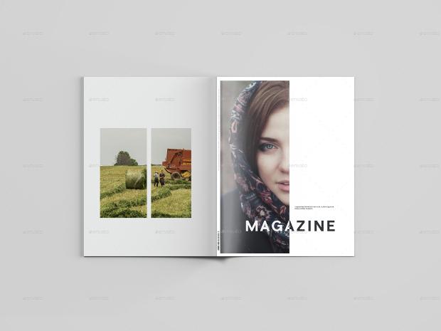 psd free magazine mockup