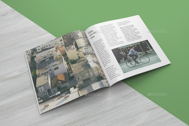 psd square magazine mockup