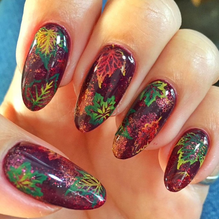 20+ Autumn Nail Art Designs, Ideas | Design Trends - Premium PSD ...