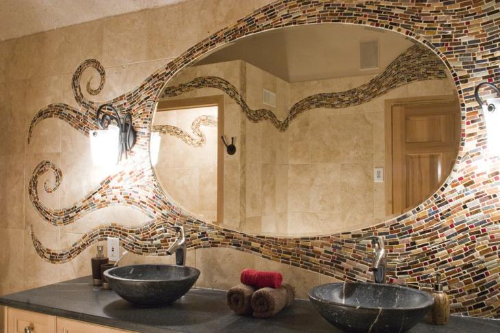 Mediterranean Designed Bathroom
