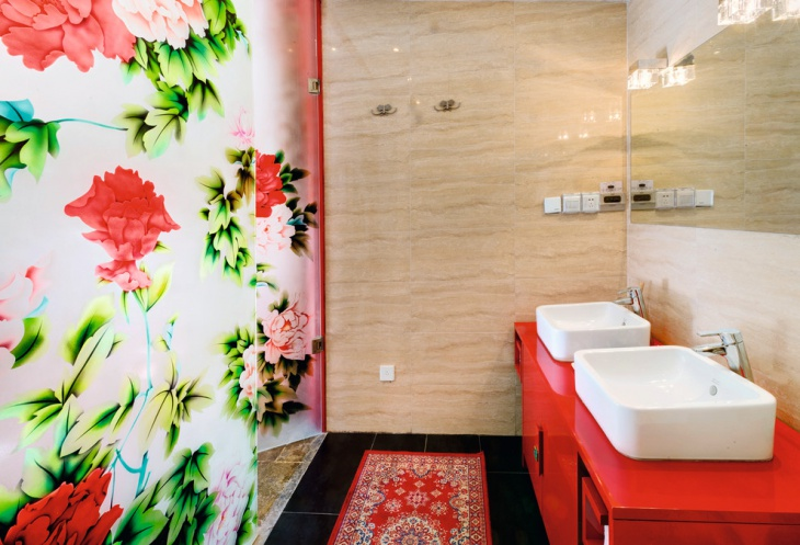Asian Style Bathroom