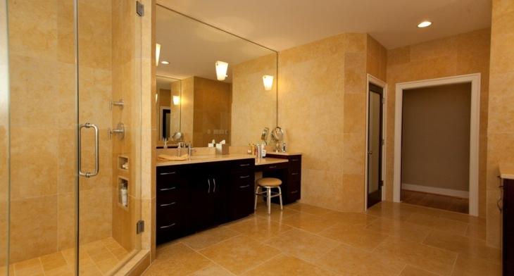 16 Gold Tile Bathroom Designs Decorating Ideas Design