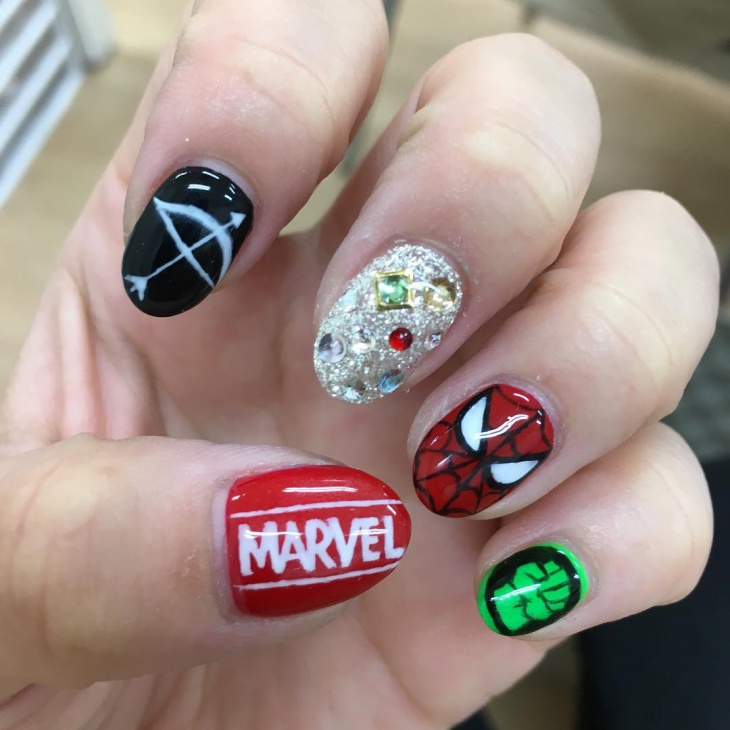 Awesome Home Remedy For Fungus Nails Thick Chanel Rose Moire Nail Polish Shaped Simple Nail Art Pen Designs Sally Hansen Nail Polish Set Old Thumb Nail Fungus Pictures GreenMost Popular Nail Polish Colors 20  Avengers Nail Art Designs, Ideas | Design Trends