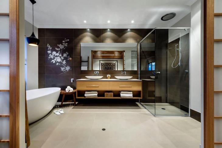 lavish bathroom interior idea