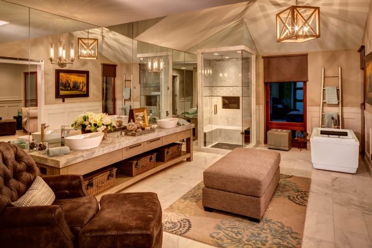 luxurious bathroom design idea1