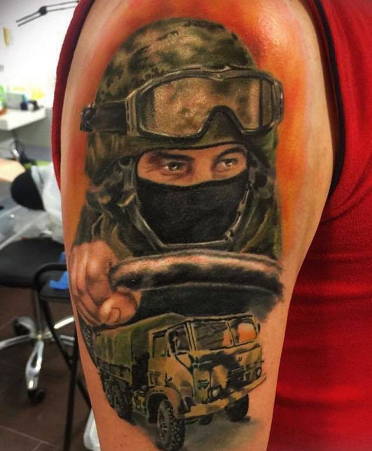 Us Military Tattoos: 20+ Military Tattoo Designs,Ideas