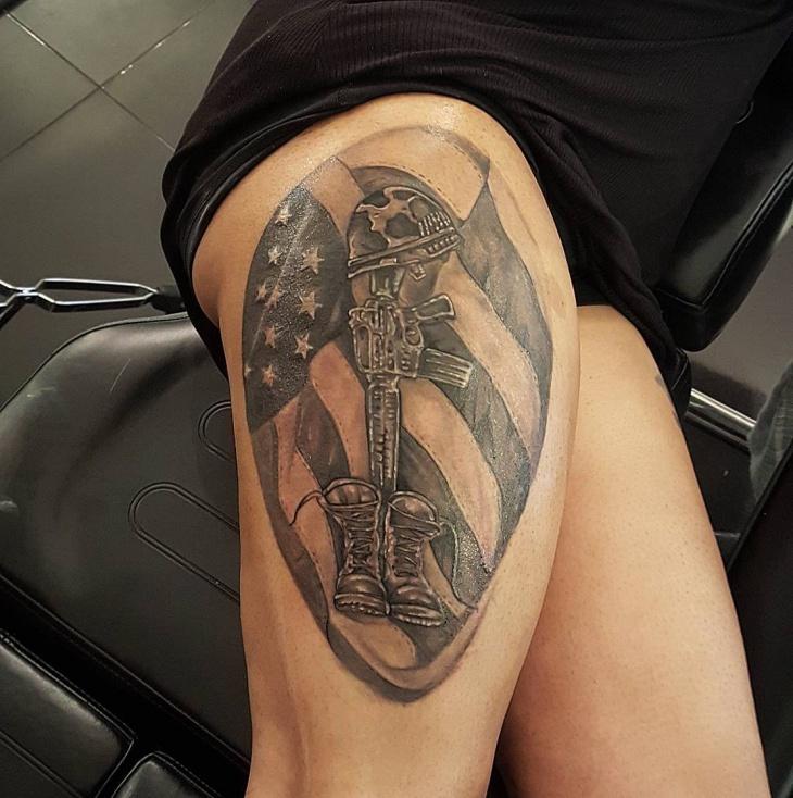 Army Tattoo Design