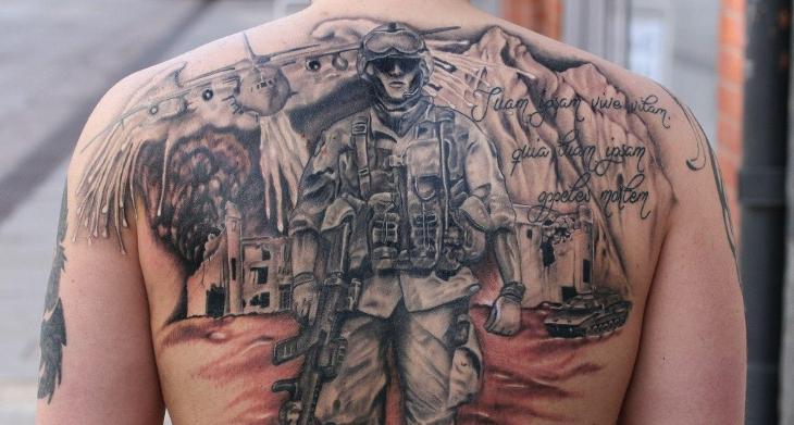 20 Military Tattoo Designsideas Design Trends Premium