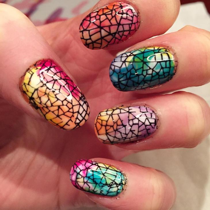 Funky Stamping Nail Art