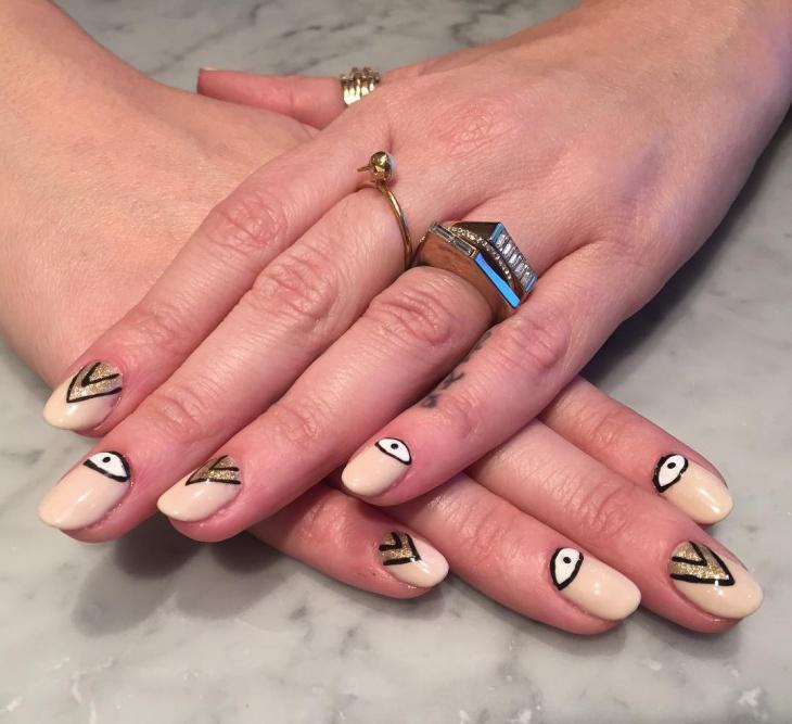 Eye Festive Nail Art
