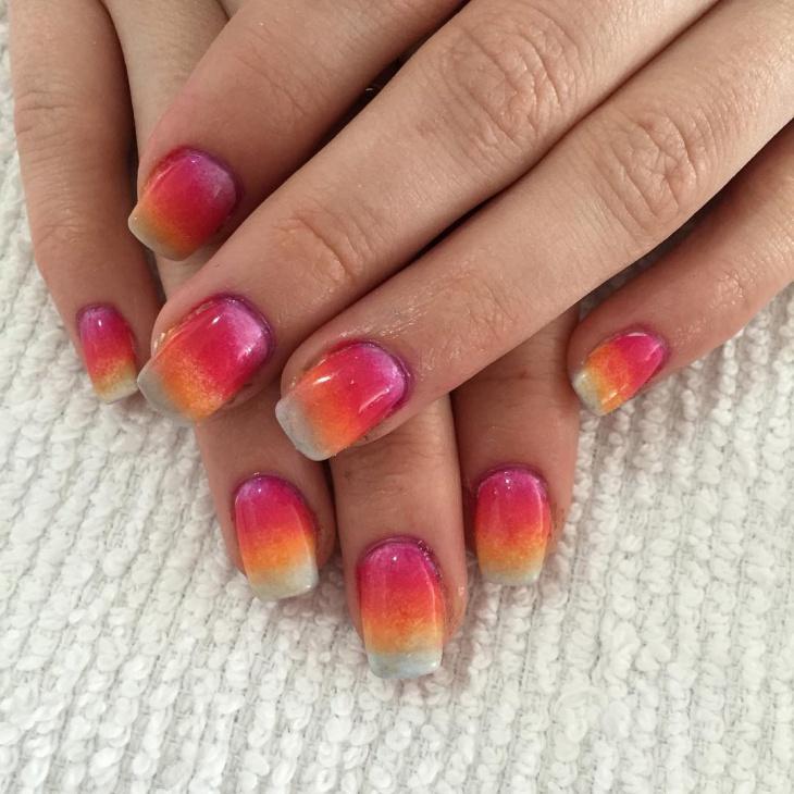 awesome sponge nail art