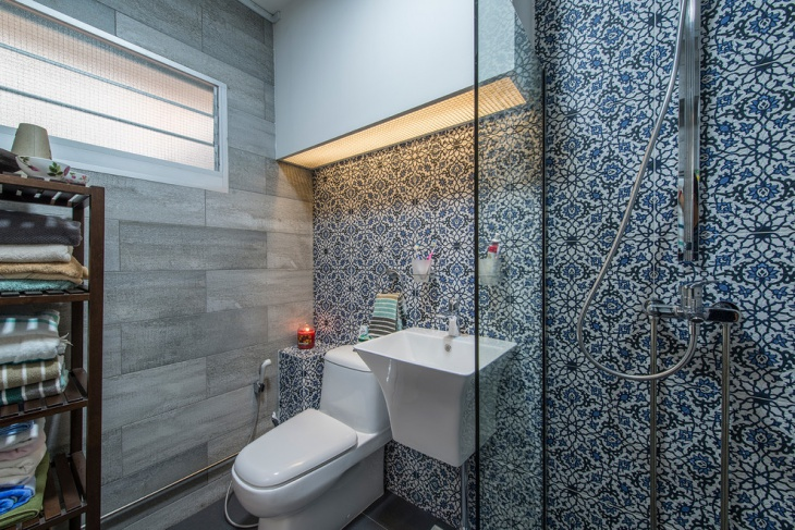 Tiles Mosaic Bathroom