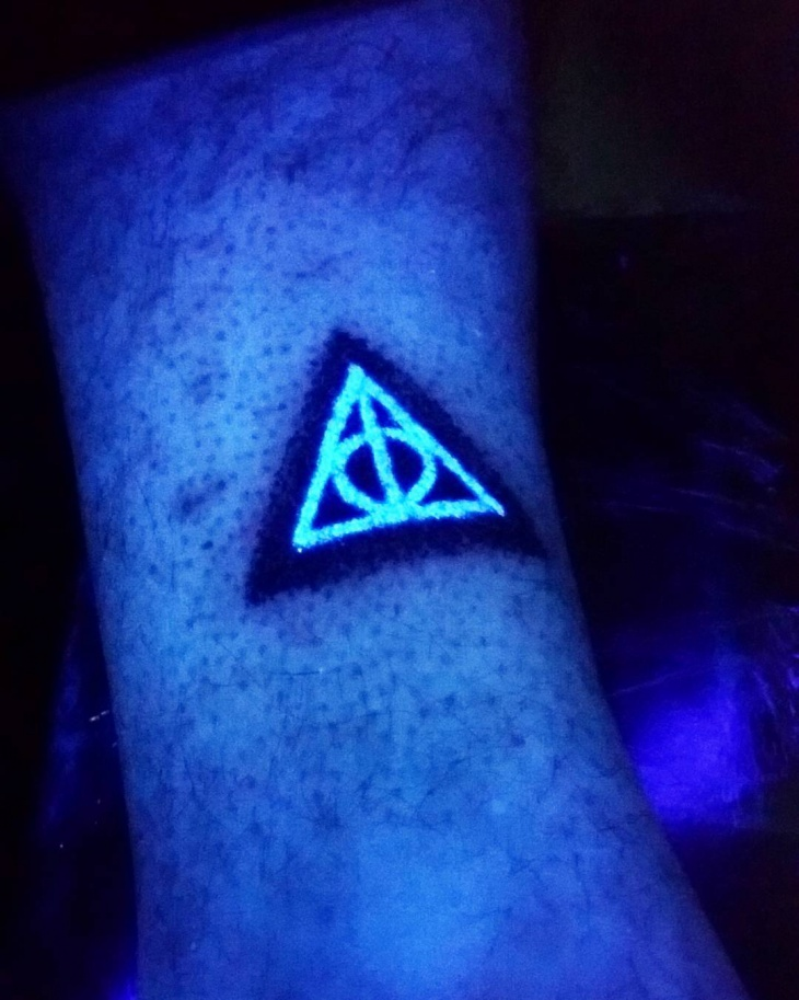 Minimal Black Light Tattoo