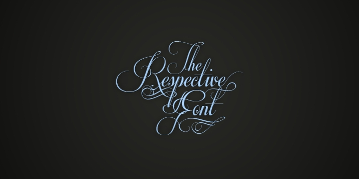 decorative fancy cursive font