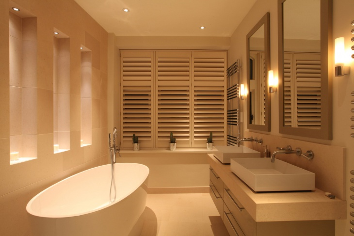contemporary bathroom lighting idea1