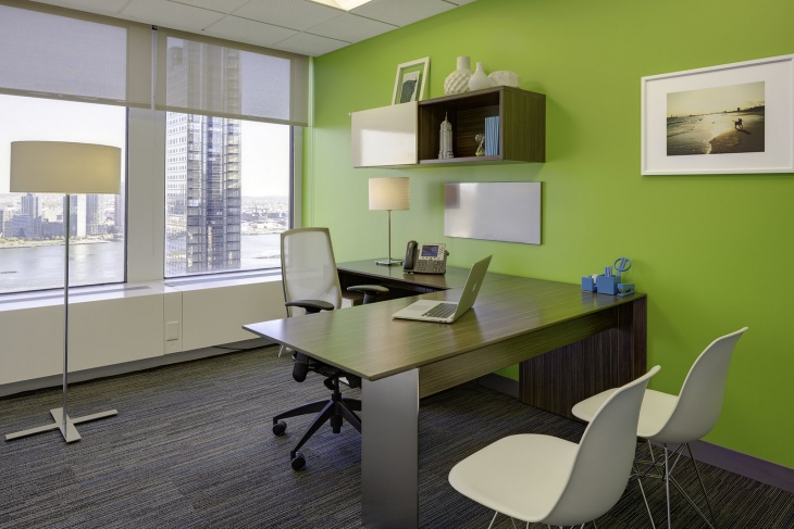 office color. Small Green Color Office Design Picture Designtrends