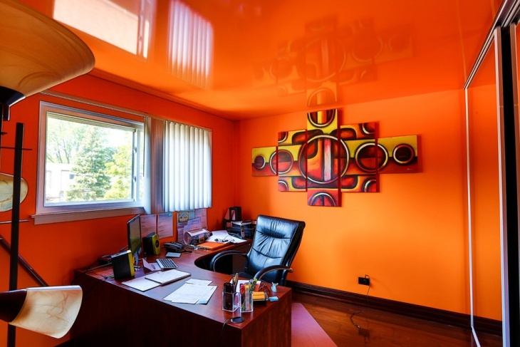 21 Office Color Designs Decorating Ideas Design Trends