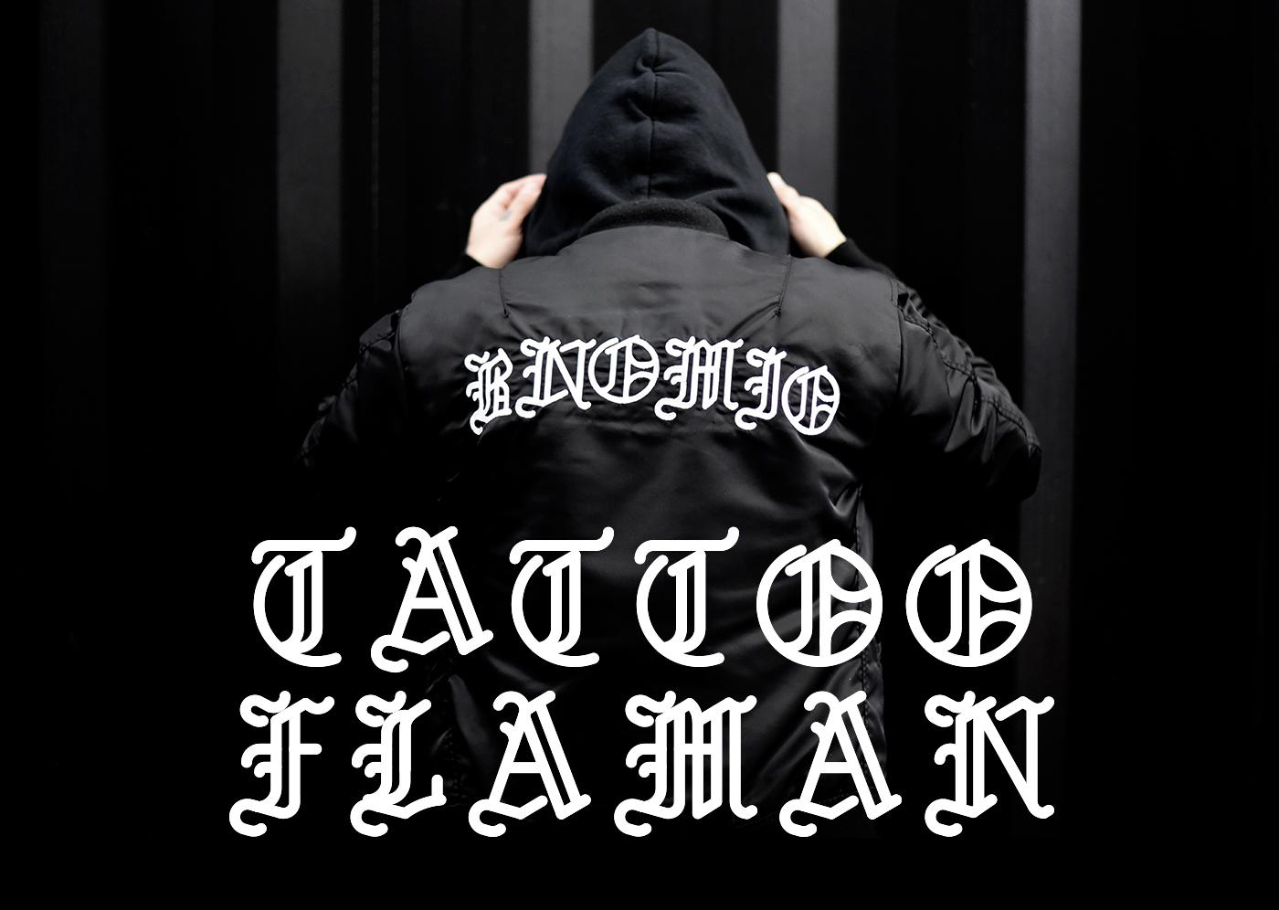typography tattoo font