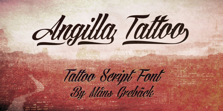 elegant tattoo fonts