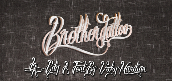 curley tattoo fonts