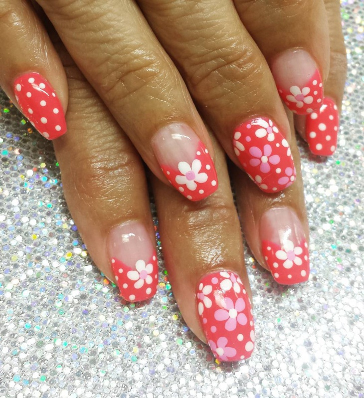 pretty summer nail art for women