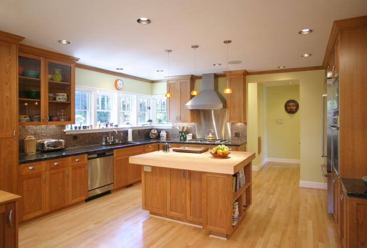 wood kitchen idea