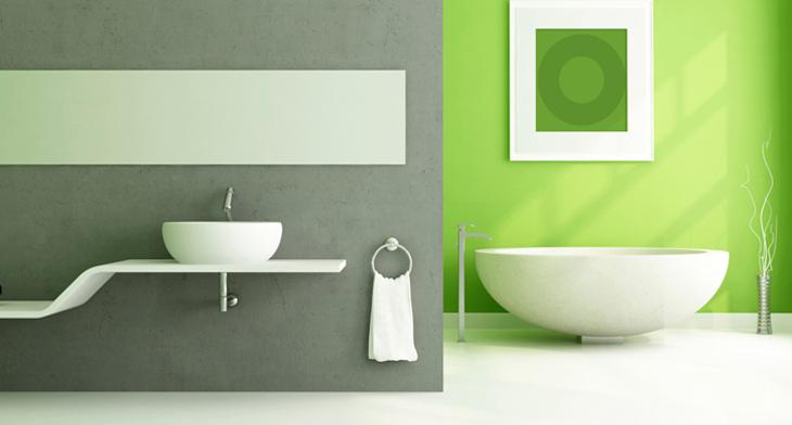 most beautiful lime green bathroom designs