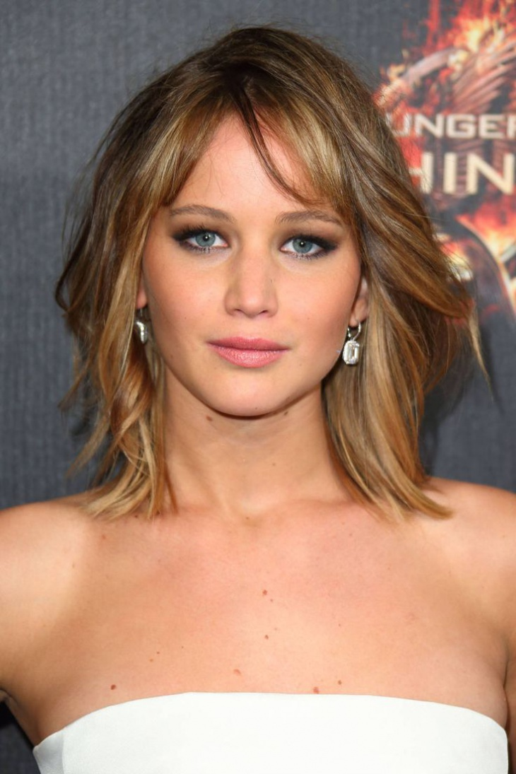 Jennifer Lawrence Layered Haircut