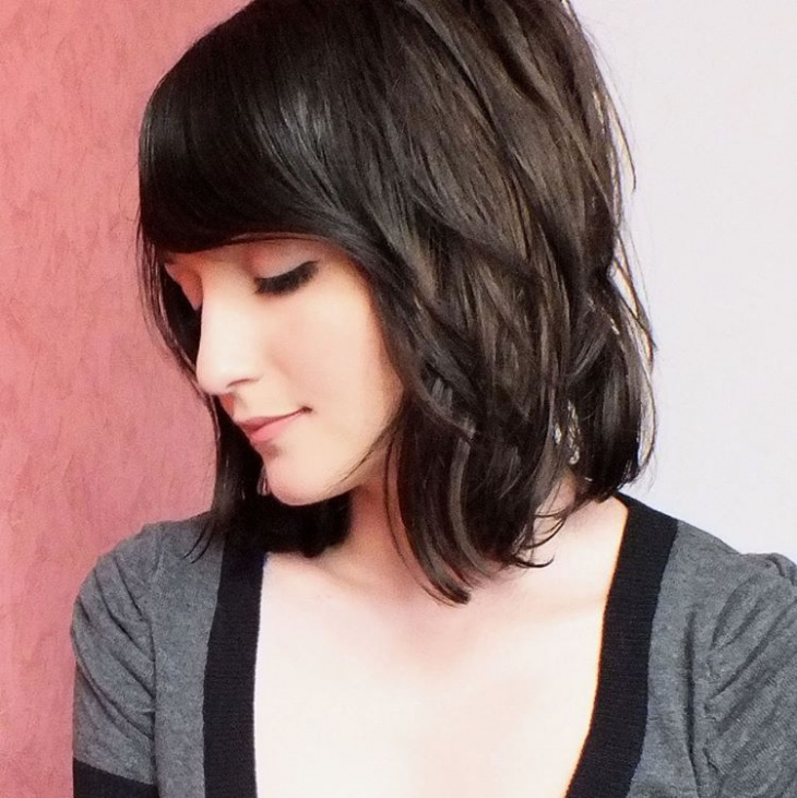 Fashionable A Line Bob Haircut