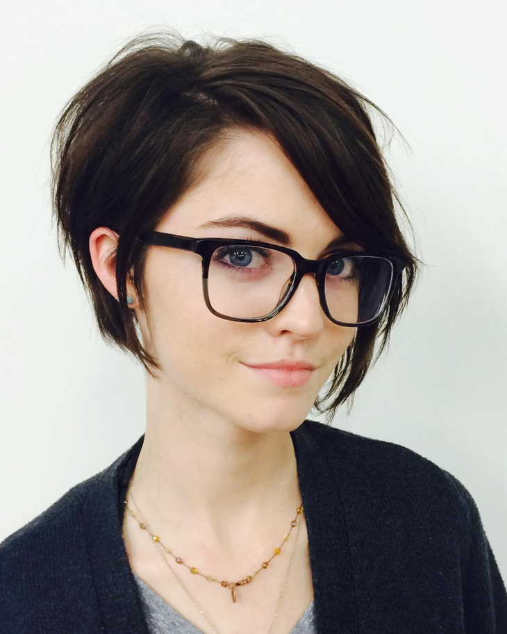 Cool Short Bob Haircut Idea