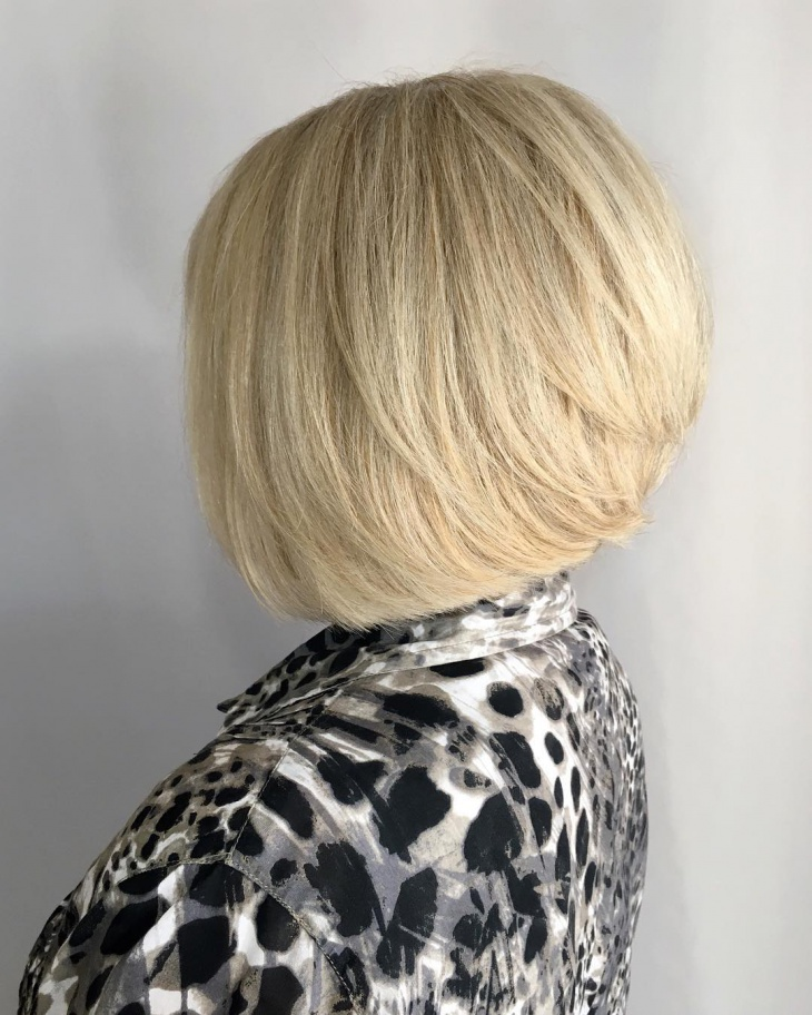 Trendy Bob Haircut for Voluminous Hair
