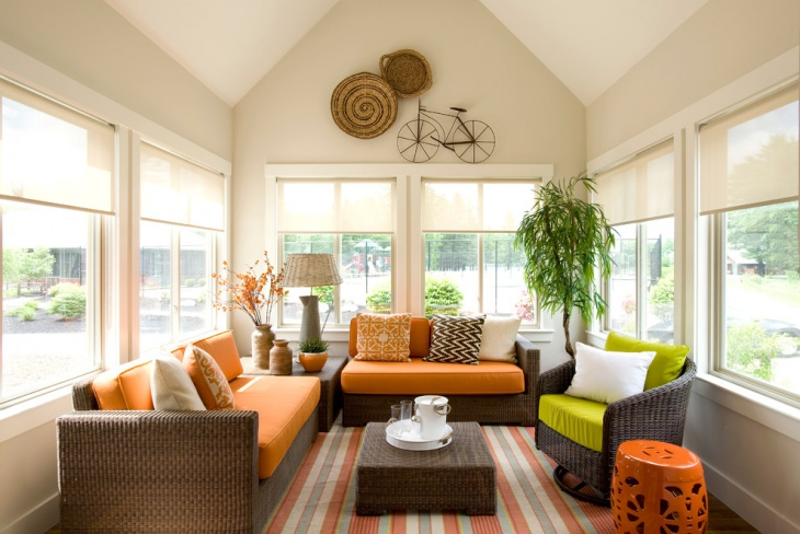 21 summer living room designs decorating ideas design for Cottage style family room