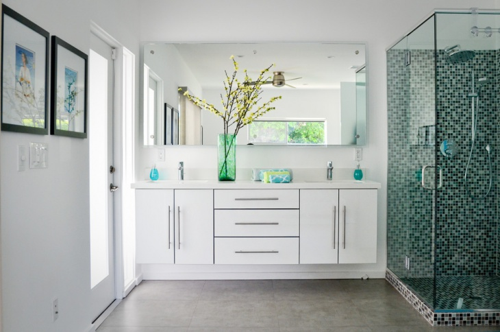 Palm Spring Mosaic Bathroom Design