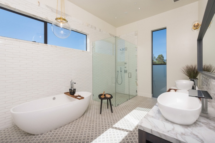 Victorian Contemporary Bathroom Design
