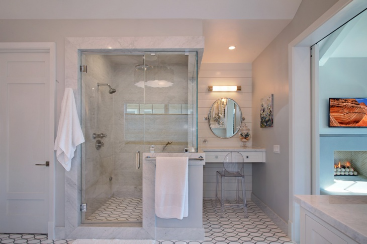 Stylish Tansitional Bathroom Idea