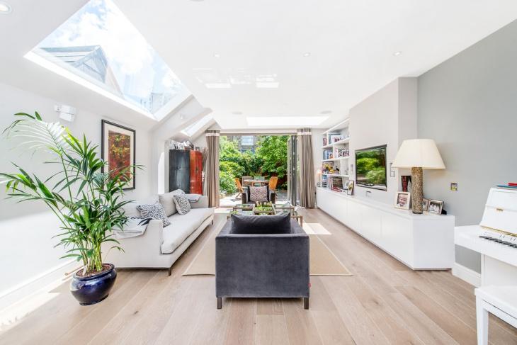 Spring Living Room Storage Idea