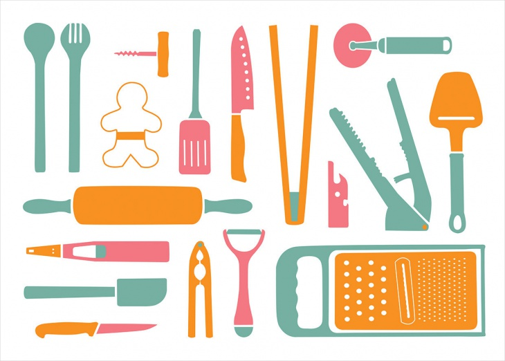 Colorful Icons for kitchen
