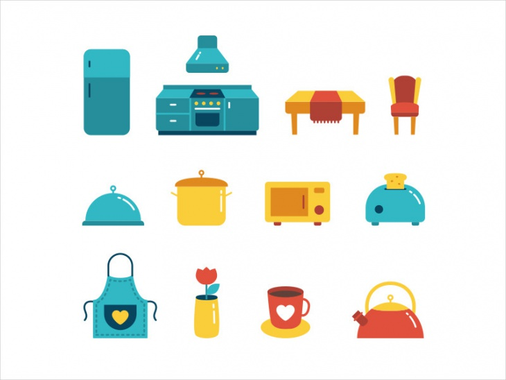 15 Kitchen Icons Png Eps Svg Format Design Trends Premium Psd Vector Downloads