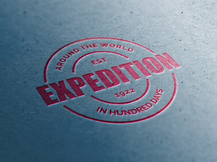 Cardboard Close-Up Logo Mockups