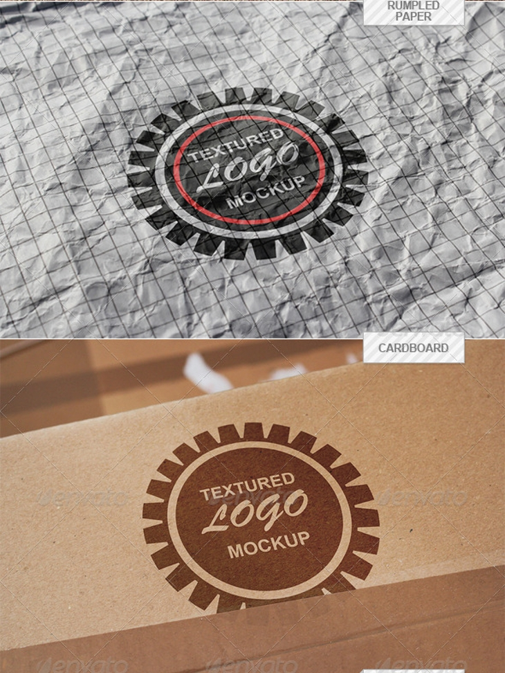 High Resolution Logo Mockup Pack