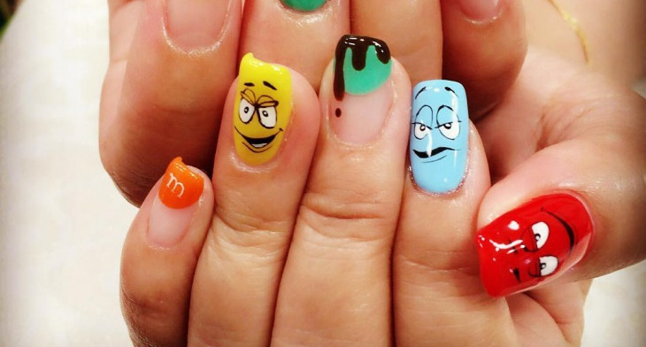 21 Mismatched Nail Art Designs Ideas Design Trends Premium Psd