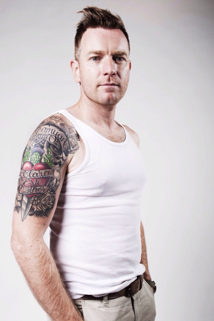 ewan mcgregor daughter sleeve tattoo
