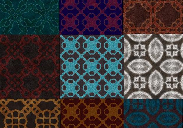 Dark Carpet Pattern Designs
