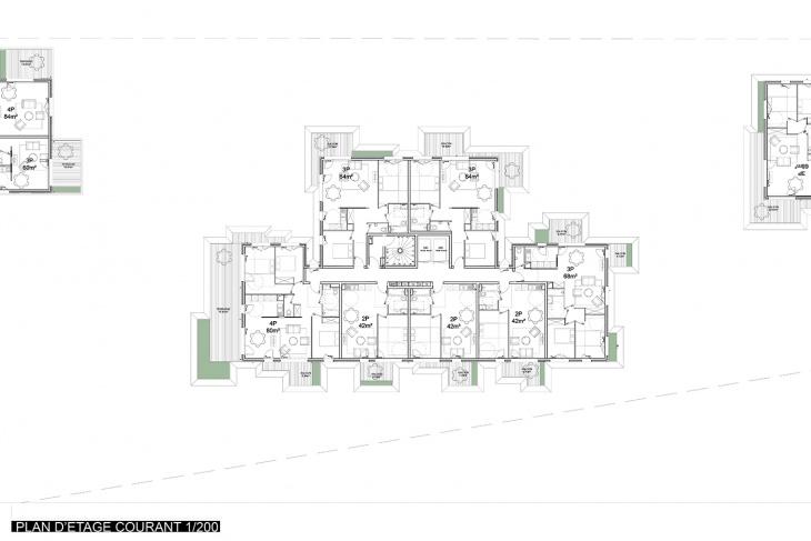 Plan of Building 'B'