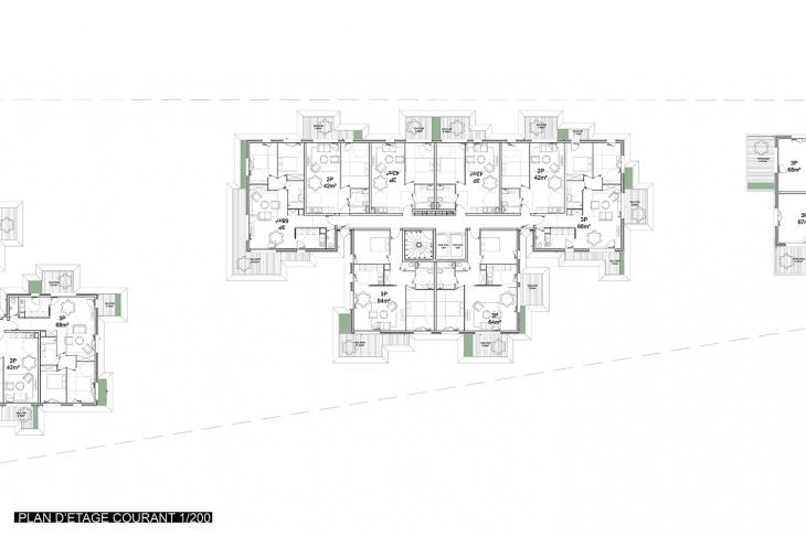 Plan of Building 'C'