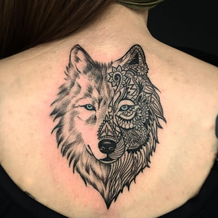 Modern Tattoo for Girl