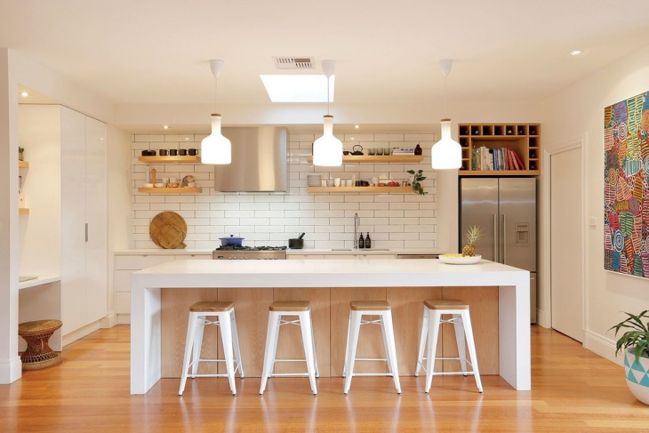 white nordic kitchen design